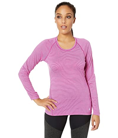 Smartwool Merino 150 Baselayer Pattern Long Sleeve (Meadow Mauve) Women