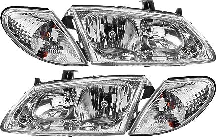 09.02 Scheinwerfer Set rechts und links für Nissan Almera N16 ab Bj