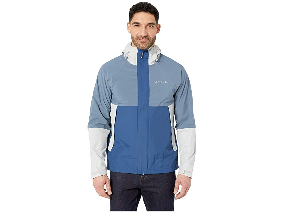 Columbia Evolution Valley Jacket (Cool Grey/Carbon/Mountain) Men