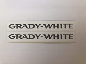 2 Grady White Boats Name Decals by SBDdecals.com