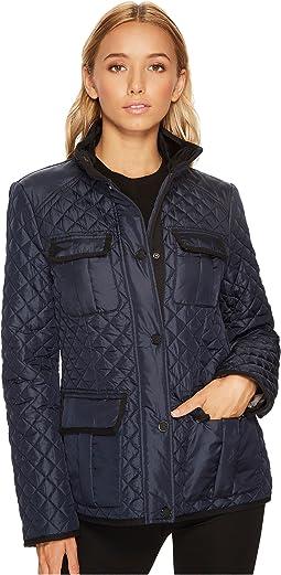 Four-Pocket Quilt Jacket M422833C
