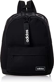 adidas Womens Backpack, Black/White - FL3711