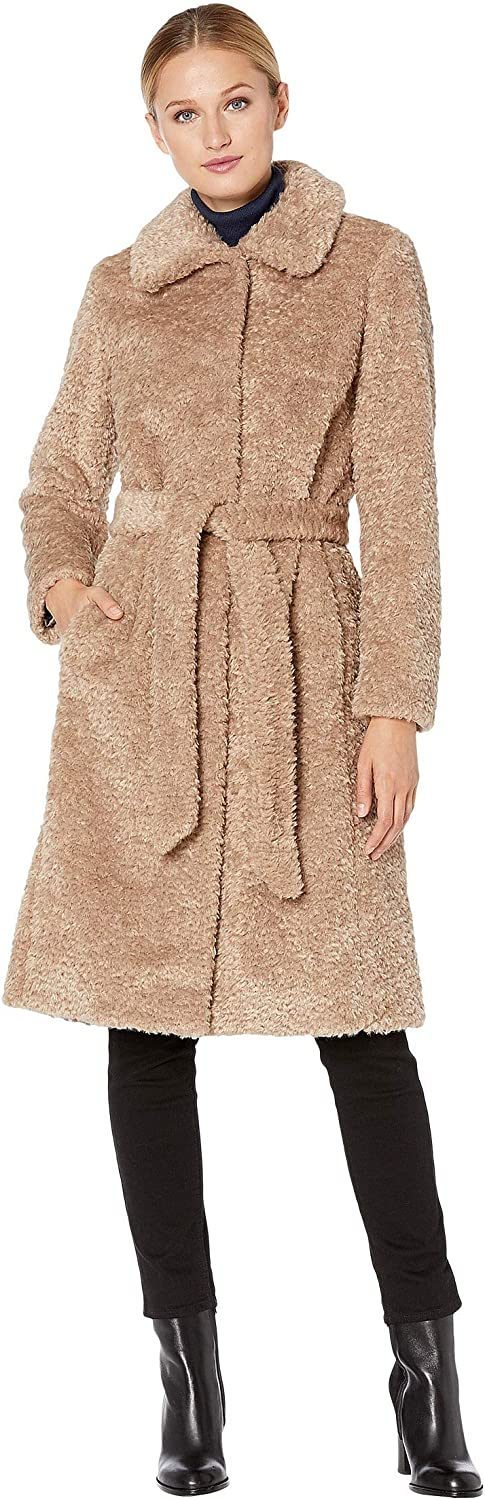 Vince Camuto Women's Chic and Warm Faux Fur Jacket