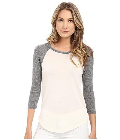 Alternative Eco Jersey Baseball T-Shirt (Eco Ivory) Women