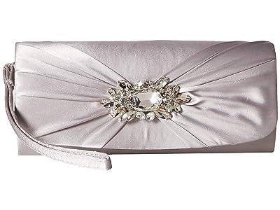 Jessica McClintock Marian Wristlet (Silver) Handbags
