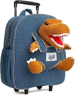 Naturally KIDS Backpack for Girls Boys w Stuffed Animal