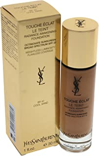 Touche Eclat Le Teint Radiance Awakening Foundation Spf22 - #Br40 Cool Sand, 1 Ounce No.BR40 Cool Sand