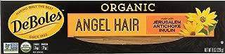 DeBoles Organic Pasta, Angel Hair, 8 Ounce (Pack of 12)