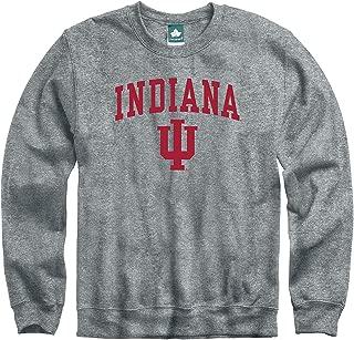 Ivysport Crewneck Sweatshirt, Cotton/Poly Blend, Legacy Logo Grey, NCAA Colleges and Universities