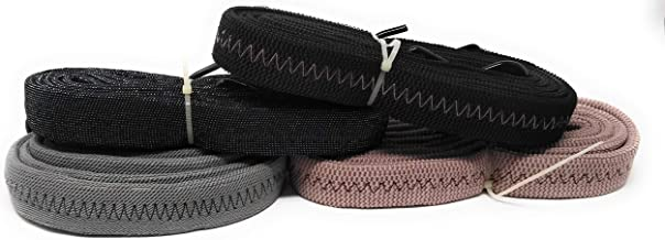 TRP TRADERS High Strength Elastic Bungee Flat Wide Cord Cargo Rope (Pack of 1) Flat Luggage Rope