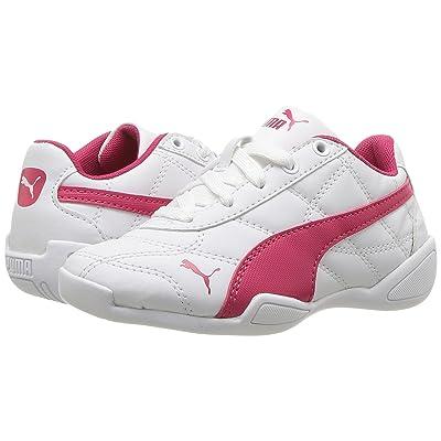 Puma Kids Tune Cat 3 PS (Little Kid/Big Kid) (Puma White/Love Potion) Boys Shoes