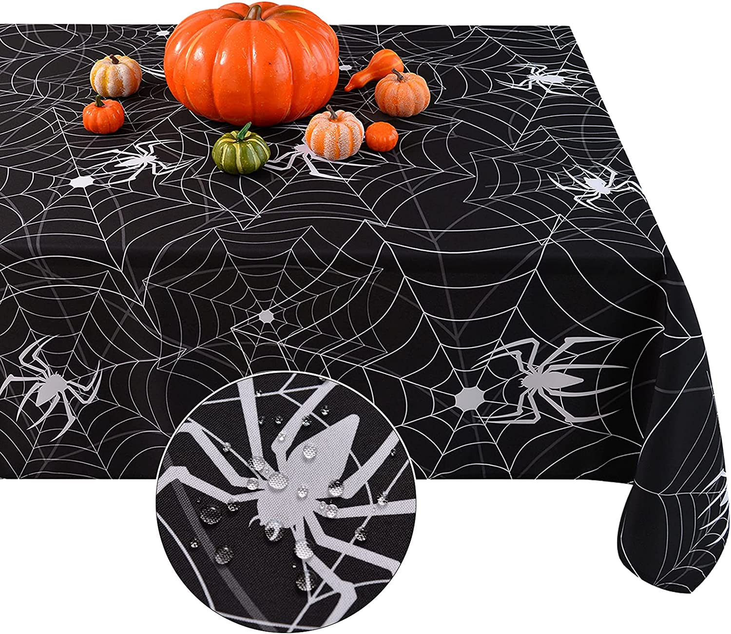 Softalker Halloween Rectangle Washabl Tablecloth,Waterproof Sales of Now on sale SALE items from new works