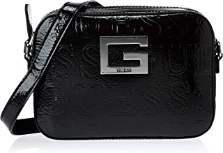 Guess Womens Cross-Body Handbag, Black - ND669112