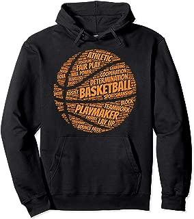 Basketball hoodie gift for boys, girls, men and women