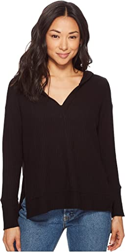 Elizabeth Long Sleeve V-Neck Thermal Top