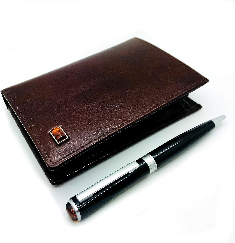 BALTISCHE AMBER Brieftasche und Schreibset aus der DUKE Kollektion B078WWQ2GL