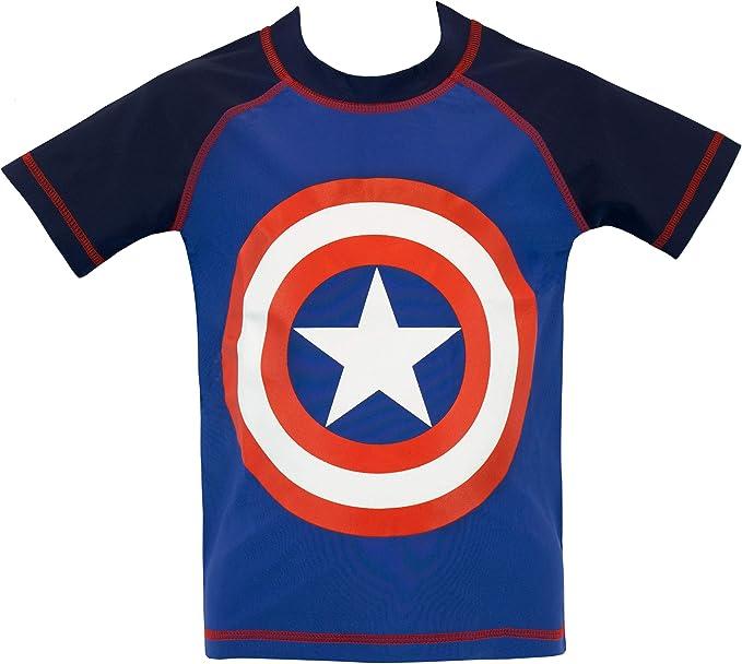 Marvel Bañador de Dos Piezas para niño [Capitán América]