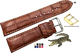 rubber leather watch strap
