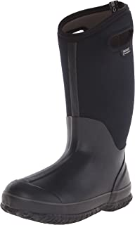 Bogs Womens Classic High Handle Wide Calf Waterproof Insulated Rain and Winter Snow Boot