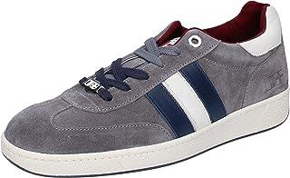 D'Acquasparta Sneaker Uomo Pelle Scamosciata Grigio