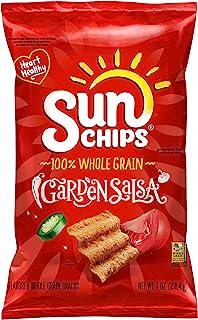 SunChips Garden Salsa Flavored Multigrain Snacks, 7 Ounce