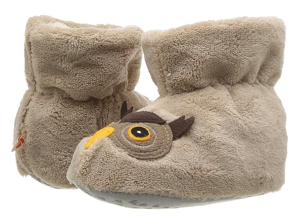 Acorn Kids Easy Critter Moc (Infant/Toddler) (Oatmeal Owl) Kids Shoes