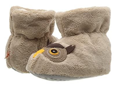 Acorn Kids Easy Critter Bootie (Infant/Toddler) (Oatmeal Owl) Kids Shoes