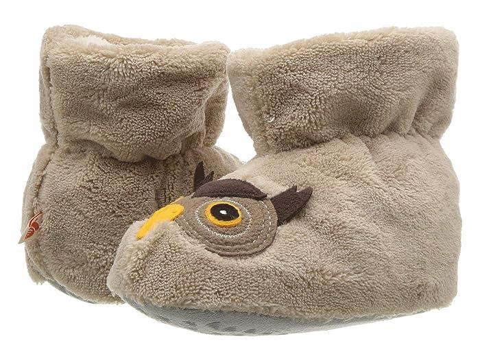Image of Kids Plush Owl Slippers