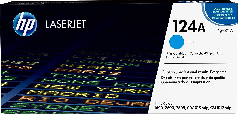HP 124A | Q6001A | Toner-Cartridge | Cyan
