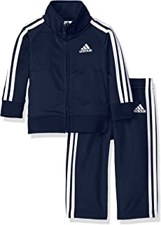 adidas Baby Boys Li'l Tricot Jacket & Pant Clothing Set