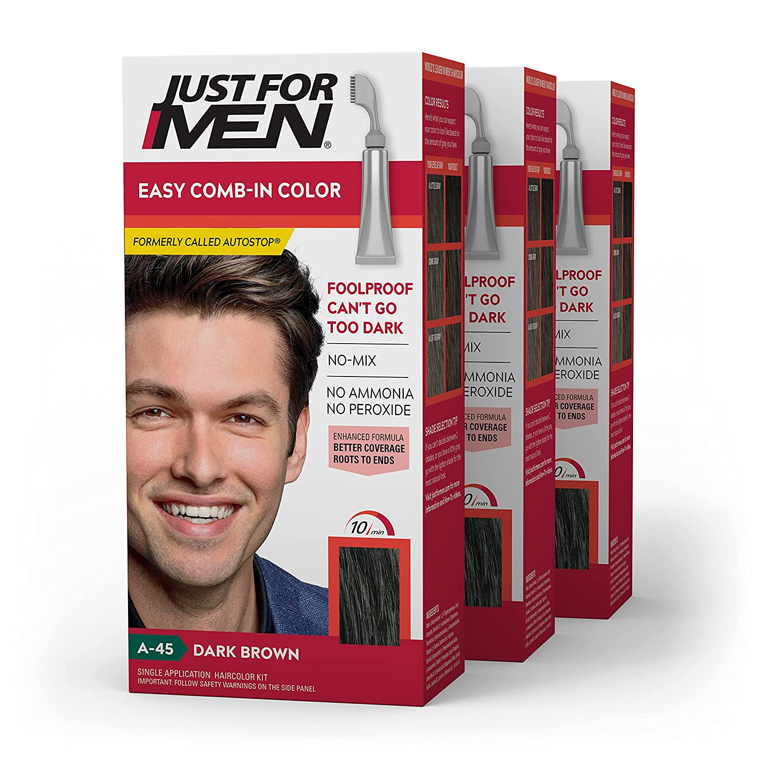 Just For Men Easy Comb-In Color C Formerly Hair Autostop Award-winning store Ranking TOP18 Gray