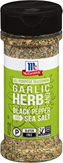 McCormick Garlic, Herb, Black Pepper & Sea Salt All Purpose Seasoning, 4.37 oz