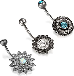 Best hottest belly button rings Reviews