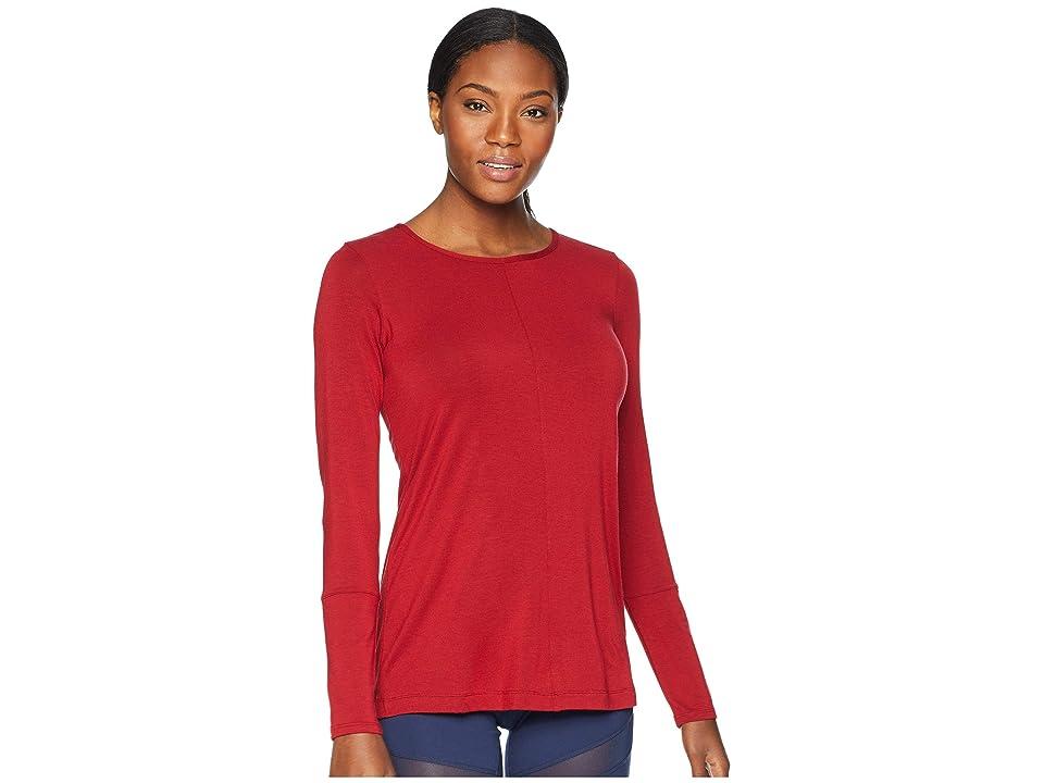 ExOfficio Galiano Long Sleeve (Bolero Red) Women