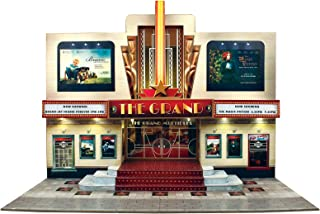 The CityBuilder O Gauge 1:48 Scale MULTIPLEX (Low Relief) LED Cinema Cardboard Model Making Kit
