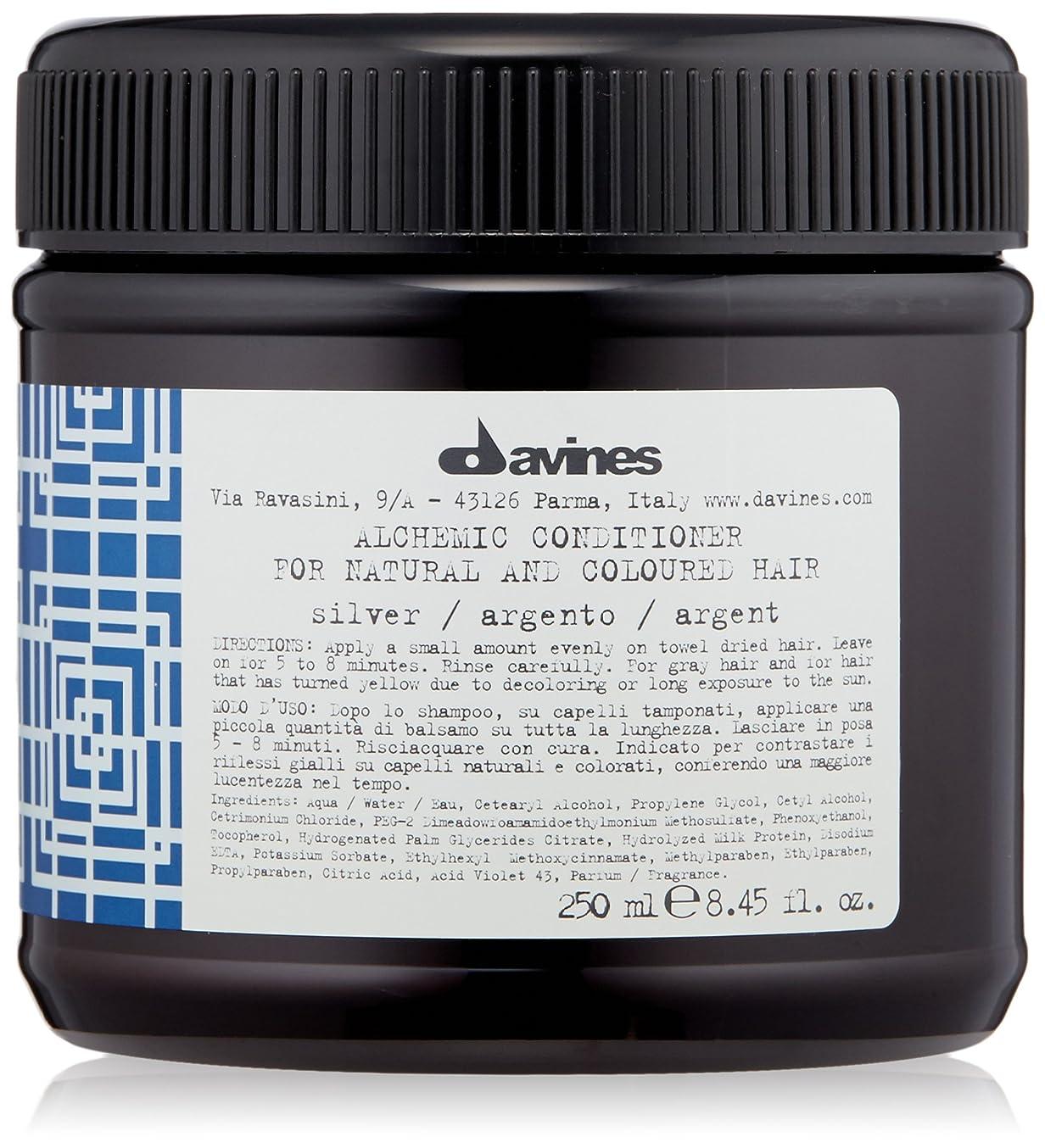 最初は簡潔なすごいダヴィネス - アルケミック コンディショナー シルバー (ナチュラル&染めた髪用) - 250ml/8.45oz