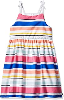Girls' Spaghetti Strap Fashion Dress