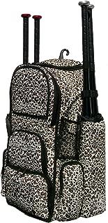 MAXOPS Cheetah Print Camouflage Chita II (L) Adult Softball Baseball Bat Equipment Backpack