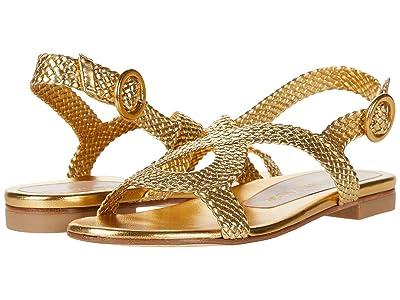 Stuart Weitzman Teodora (Gold Woven) Women