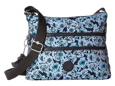Kipling Alvar Crossbody Bag (Roaming Roses) Cross Body Handbags