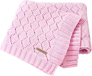 Best pom pom knitted baby blanket Reviews