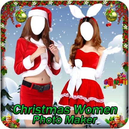 Christmas Women Photo Maker