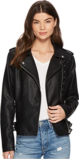 Members Only - PU Moto Jacket