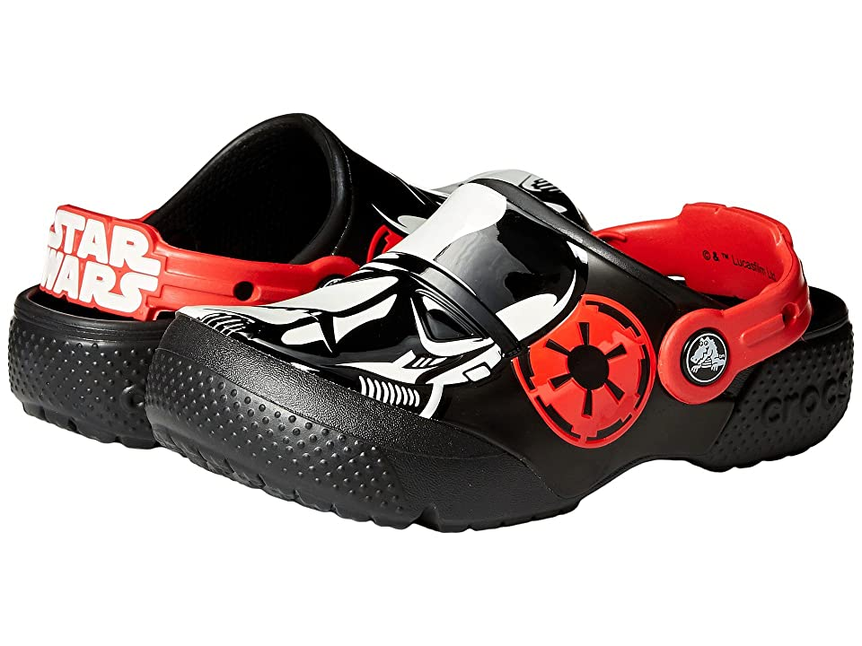 Crocs Kids FunLab Stormtrooper Clog (Toddler/Little Kid) (Black) Boys Shoes