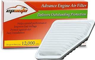 EPAuto GP169(CA10169) Replacement for Toyota/Lexus/Scion Rigid Panel Engine Air Filter for Camry V6(2007-2011), RAV4(2006-2012), Matrix(2009-2013), Venza(2009-2015),Avalon(2005-2012),tC(2011-2016)