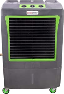 OEMTOOLS 23968 3-Speed Evaporative, 3100 CFM, Cools Up to 950 Square Feet, Oscillates for Broad Coverage, Evap Air Cooler with Wheels, Gray