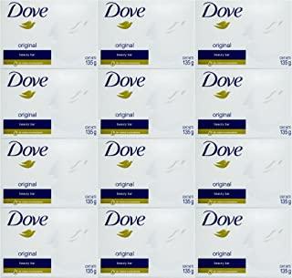 Dove White Cream Bar 4.75 Oz / 135 Gr (بسته 12)