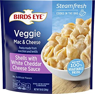 Birds Eye Veggie Made Mac and Cheese Shells with White Cheddar Cheese Sauce, 10 OZ