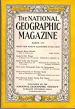 The National Geographic Magazine. March, 1937 Volume LXXI Number 3.