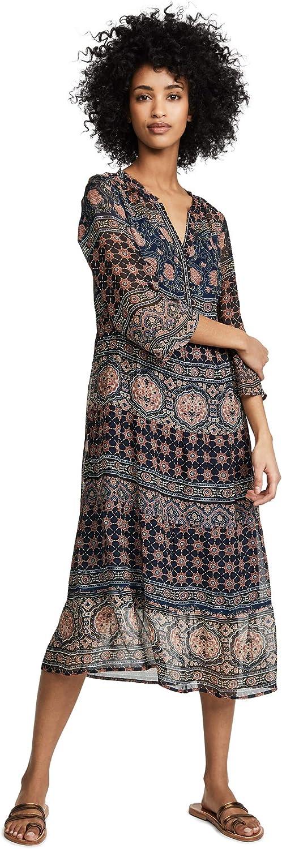Velvet by Graham and Spencer Women's Zendaya Monaco Print Dress Multi Coloured